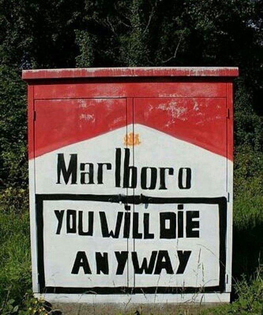 مارلبرو - آخرش میمیری